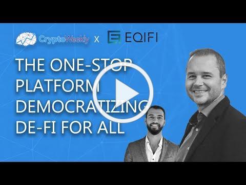 Brad Yasar EQIFI CryptoWeekly Podcast