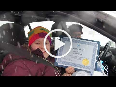 "ProAct's Eagan Recognition event goes ""drive through"" in snow"