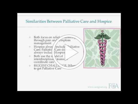 Palliative Care 101