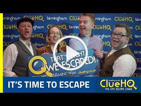 Clue HQ - The Live Escape Game Experience