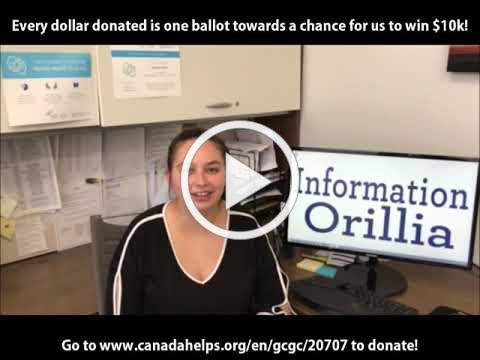 Information Orillia - Great Canadian Giving Challenge