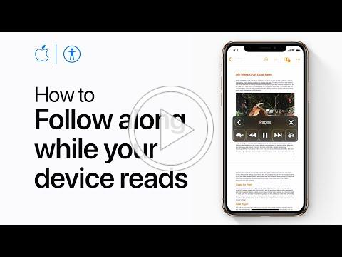 How to have your iPhone or iPad highlight text as it reads your screen - Apple Support