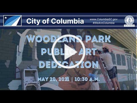Woodland Park Public Art Dedication Ceremony
