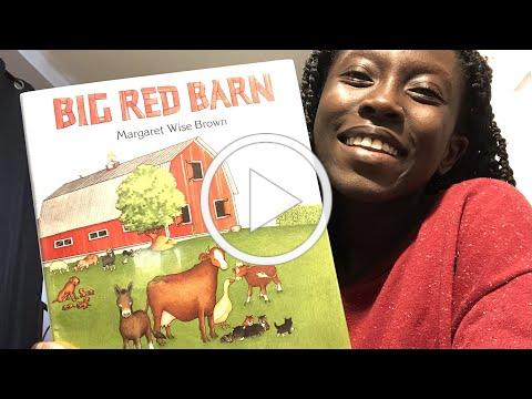 Bedtime with Clio AND Christine! - Big Red Barn by Margaret Wise Brown