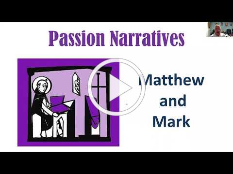 Passion according to Matthew and Mark