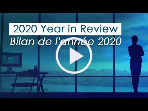 2020 Year in Review | Bilan de l'année 2020