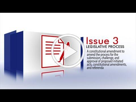 2020 Arkansas Ballot Issue 3 - Ballot Issue Process
