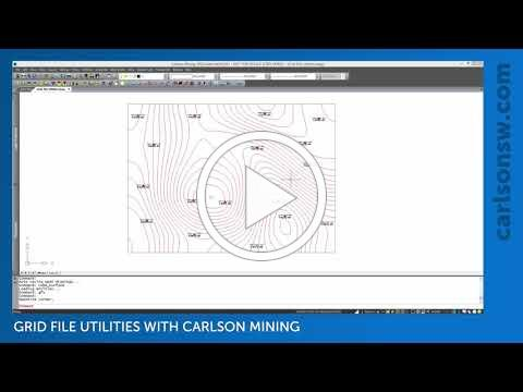 Modifying Grid Files with Grid File Utilities   Carlson Mining