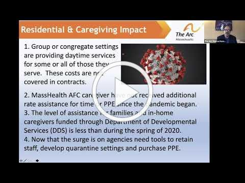 Massachusetts FY21 Budget Briefing: Leo Sarkissian on the Needs of the Disability Community