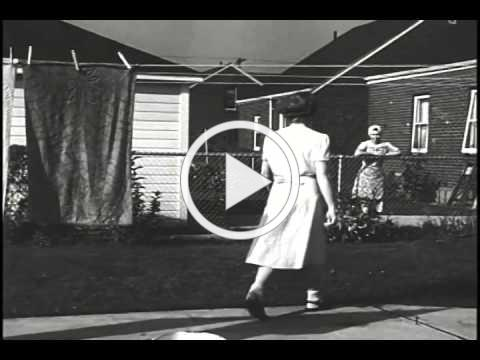 Mid Century Home life -- The 50s