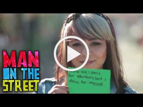 Why Do We Gossip?   Man on the Street