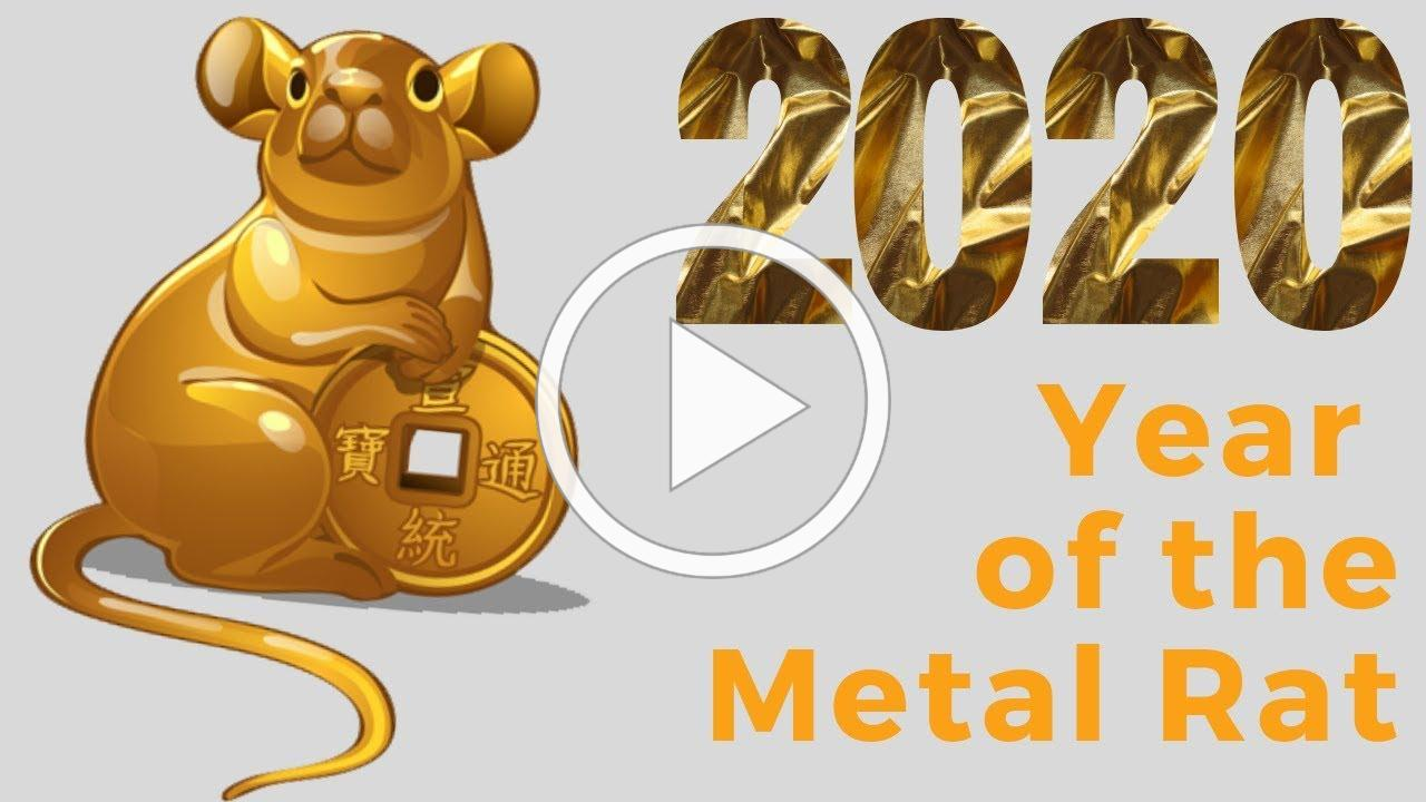 2020 Year of the Metal Rat Chinese Astrology Forecast Predictions