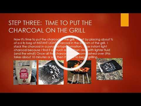 Beginner Charcoal Grilling Tip Powerpoint