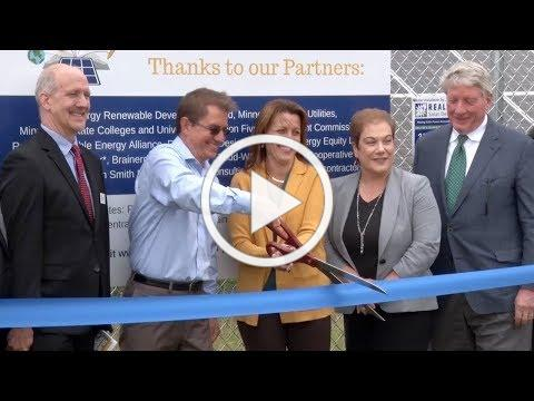 Golden Apple: Solar Schools Project Officially Completed