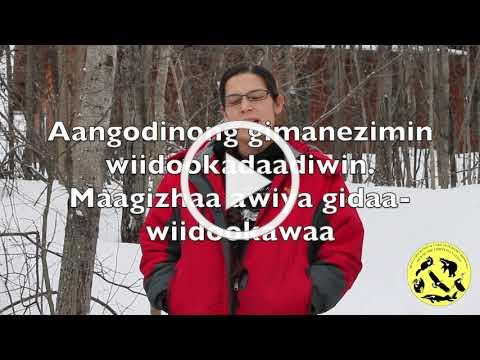 Ojibwe Phrase of the Week Jan 6