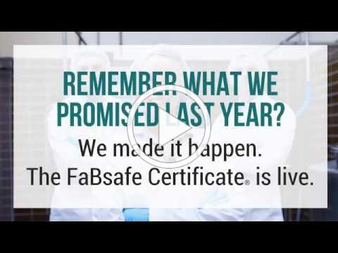 The FaBsafe Certificate® is here!