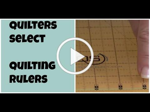 Quilters Select: Quilting Rulers