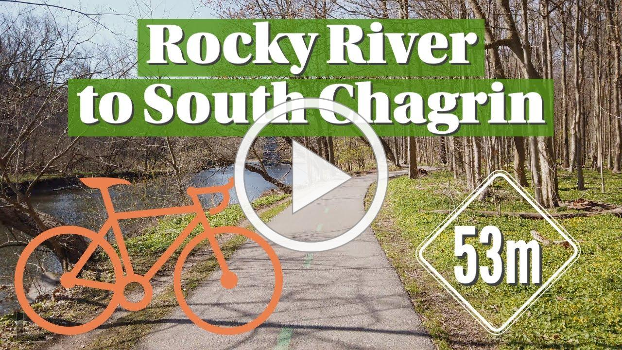 53-mile bike ride on the Cleveland Metroparks All Purpose Trail