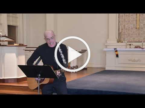 I Can See Clearly Now - Pastor Kevan, guitar and Miles Walter, piano
