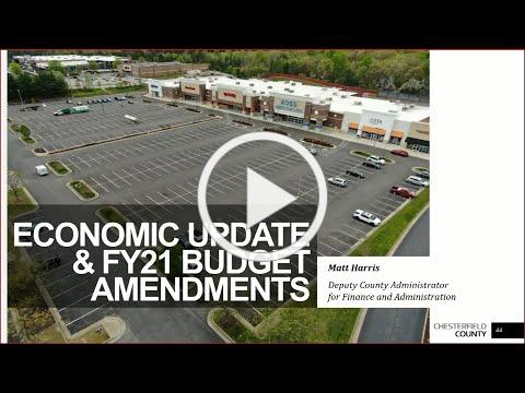 Board of Supervisors 5/27/20 Economic Update on COVID-19