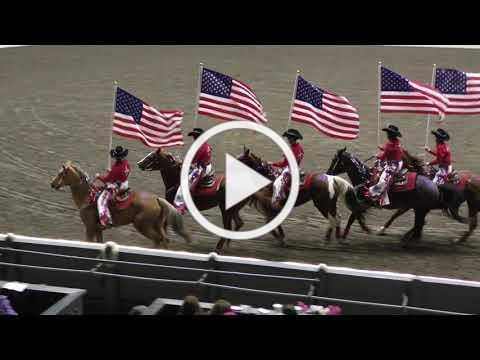 Equine Affaire 2019 Fantasia - Crimson Acres Glory Riders