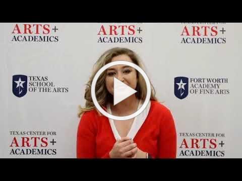 Texas School of the Arts Virtual Open House 2020