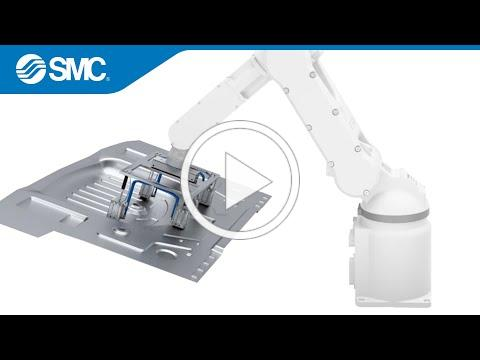 SMC's New Product Video: MHM-X6400 Series - Magnetic Gripper