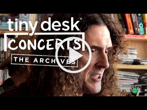 'Weird Al' Yankovic: NPR Music Tiny Desk Concert From The Archives