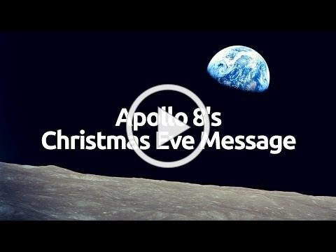 Apollo 8's Christmas Eve Message [HD]