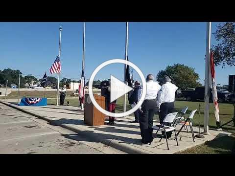 Central Texas VSO Alliance Veterans Day Ceremony at Bradfield Village Park