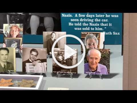 RUTH Holocaust Exhibit Virtual Tour at the Chula Vista Library (2020)