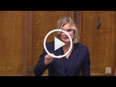 House of Commons EU Withdrawal Agreement Speech