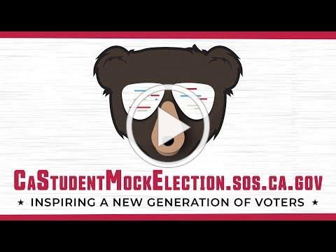 California Student Mock Election