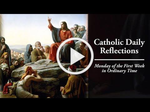 A Time to Repent and Believe - Monday, January 11, 2021