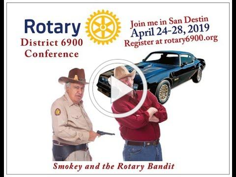 Rotary 6900 Conference promo ad on Feb 18 2019