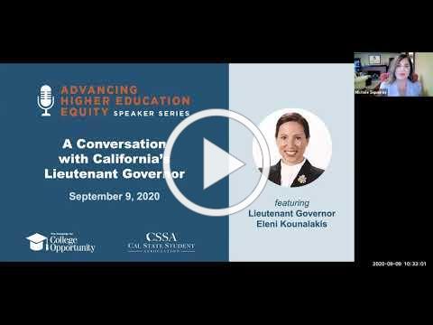 A Conversation with California's Lieutenant Governor Eleni Kounalakis