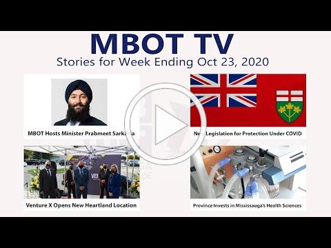 October 23, 2020 | Weekly Recap | MBOT TV