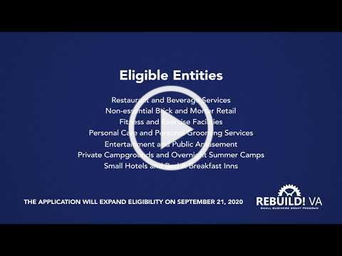 RebuildVA Expands Eligibility