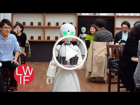 A Pop-Up Japanese Cafe With Robot Servers Remotely Controlled by People With Disabilities