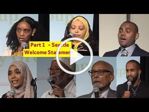 Part 1- Bringing Eritreans Together & Outcome of Sinit Conference Seattle Aug 24th, 2019