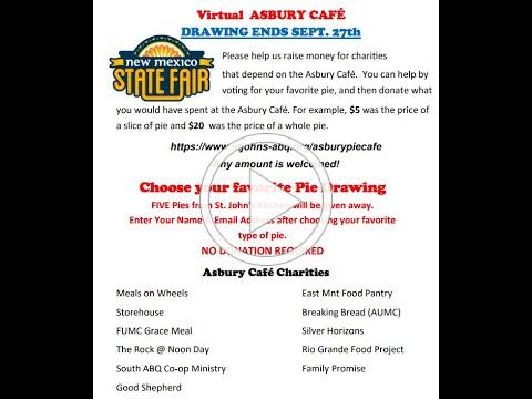 Asbury Pie Cafe | Drawing Results!