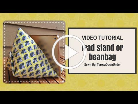 Video tutorial: iPad or tablet stand