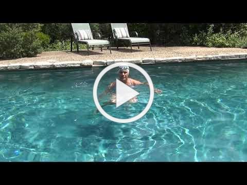 Pool Stretch Segment Vertical Kick