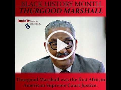 Black History Month: Thurgood Marshall