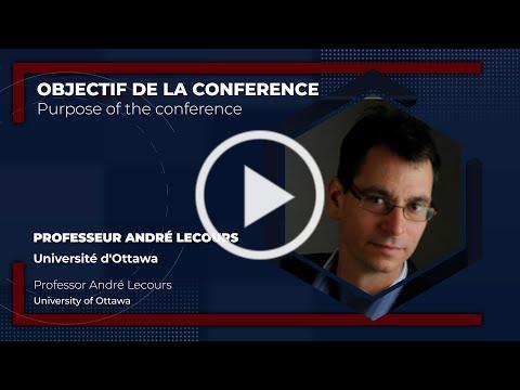 Fédéralisme fiscal au Canada: Objectif de la conference