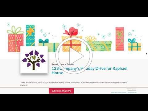 Holiday Program 2020 - Virtual Giving Tree Intro