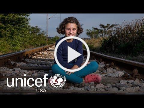 Hiba's Story: Ten-Year-Old Syrian Refugee   UNICEF USA