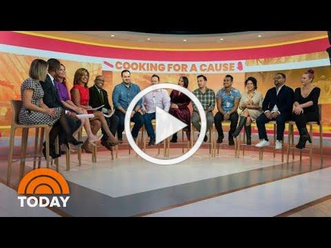 Al Roker And Top Chefs Surprise California Wildfire Firefighters | TODAY