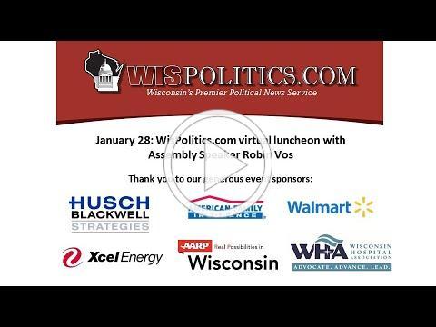 Jan 28 WisPolitics.com luncheon with Assembly Speaker Robin Vos
