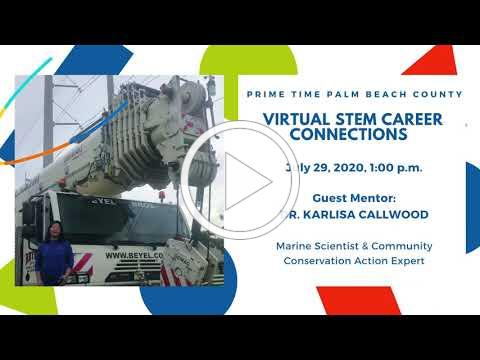 Register for Prime Times Final STEM Career Connections Session of the Summer